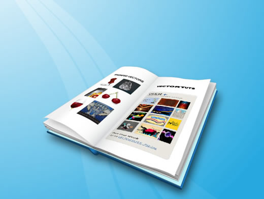 Create an Open Book with Illustrator's 3D Extrude & Bevel Tool