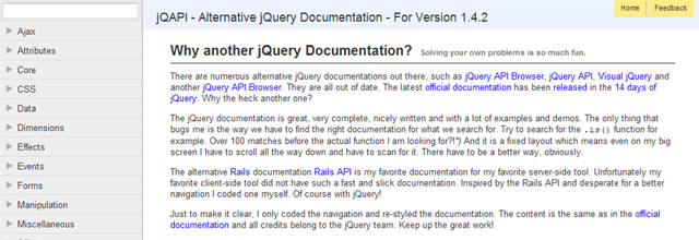 jQAPI - Alternative jQuery Documentation (HTML, AIR and ZIP)