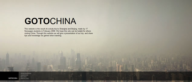 large fullsize photo image background web design inspiration GOTOCHINA