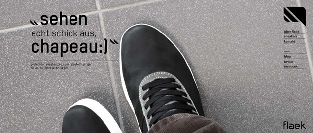 large fullsize photo image background web design inspiration Flaek Footwear