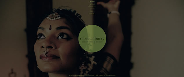 large fullsize photo image background web design inspiration Rebecca Barry