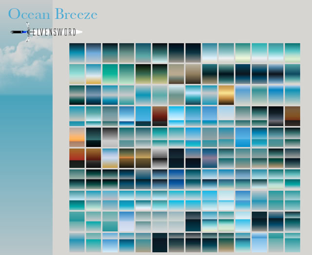 Ocean Breeze - 75 Gradients