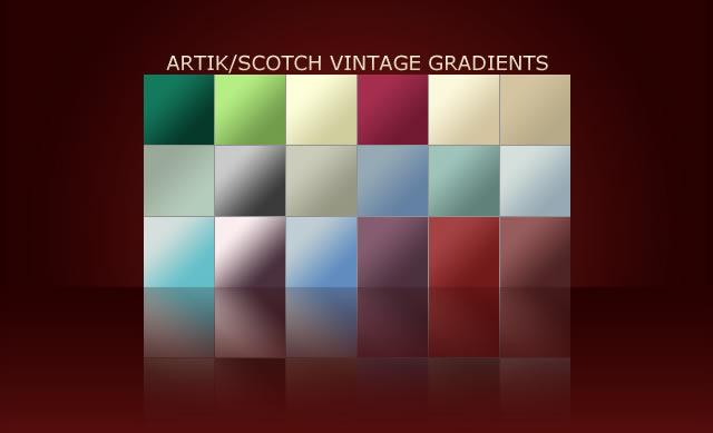 Vintage - 24 Gradients