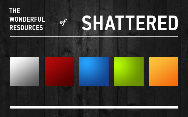 Shattered Gradients - 8 Gradients