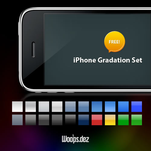 iPhone Gradation Set - 20 Gradients