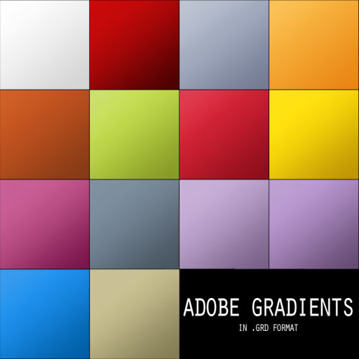 Adobe Gradients Pack - 14 Gradients