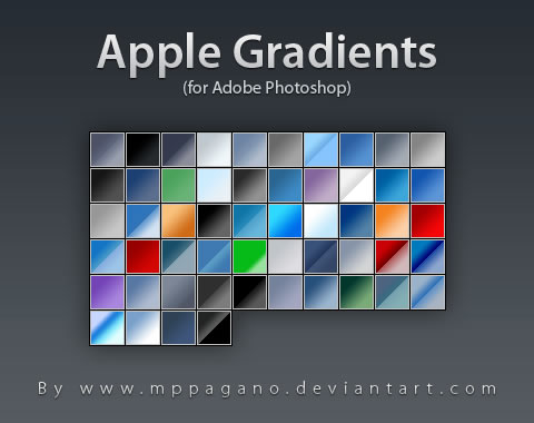 Apple Gradients - 54 Gradients
