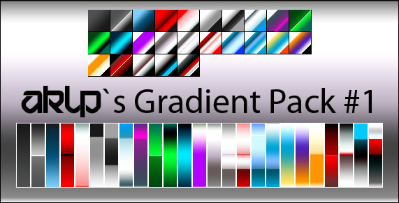 AKLPs Gradient Pack - 25 Gradients