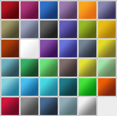 Adobe CS3 Gradients - 35 Gradients