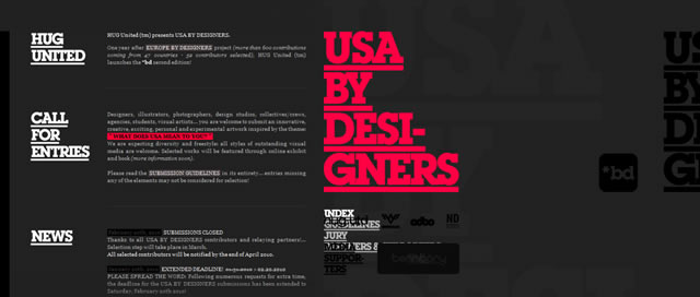 USA BY DESIGNERS