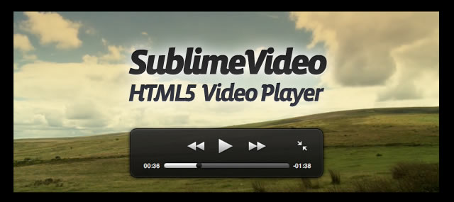 SublimeVideo HTML5 Video
