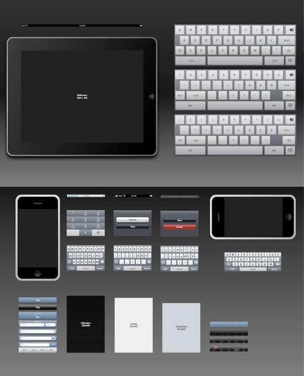 Disseny IPADE i l'iPhone (OmniGraffle)