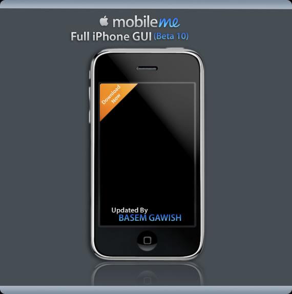 MobileMe Full GUI