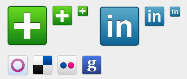 Social Media Icons in Pure CSS