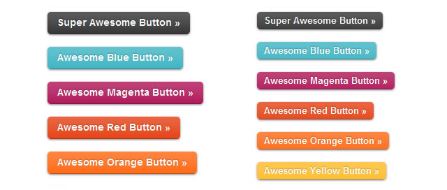 Super Awesome Buttons with CSS3 and RGBa – ZURB Playground – ZURB.com