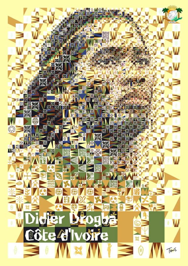Didier Drogba (Côte d'Ivoire) - World Cup 2010