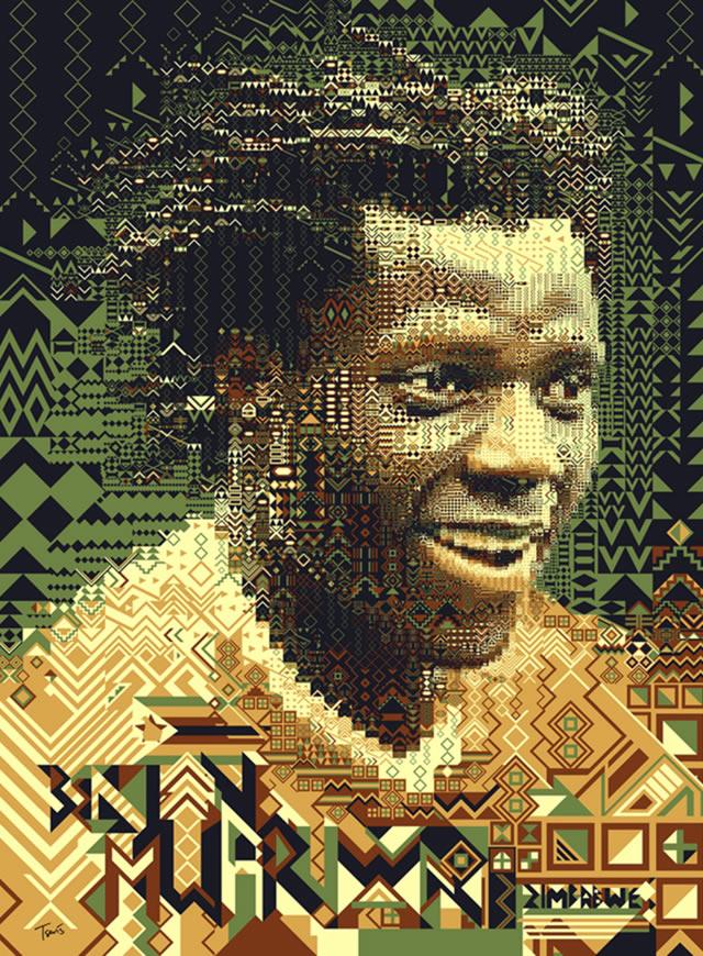 Benjani Mwaruwari (Zimbabwe) - World Cup 2010