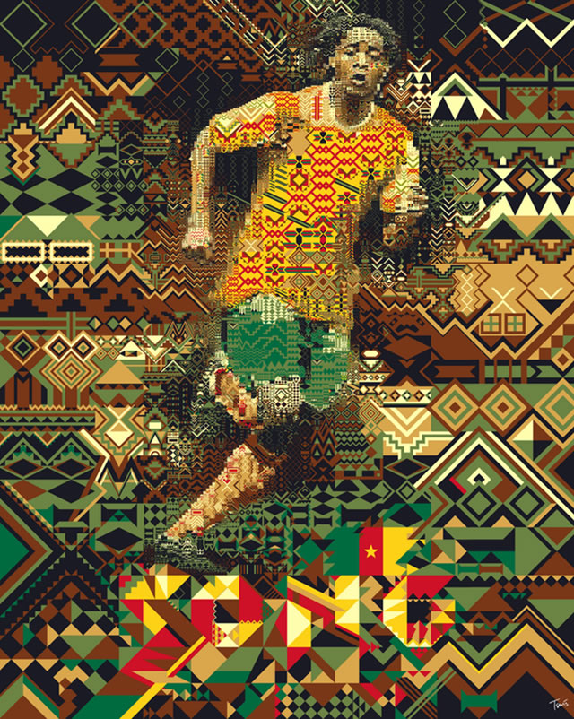 Alex Song (Cameroon) - World Cup 2010