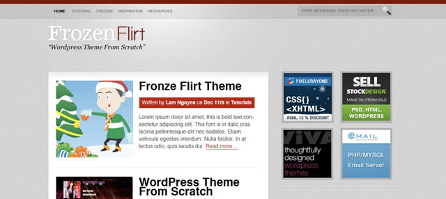 WordPress Theme from Scratch