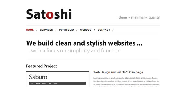 How To Design A Clean and Minimal Portfolio Website