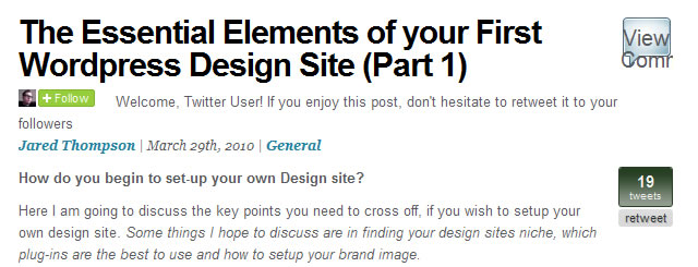 The Essential Elements of your First WordPress Design Site