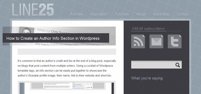 How to Create an Author Info Section in WordPress