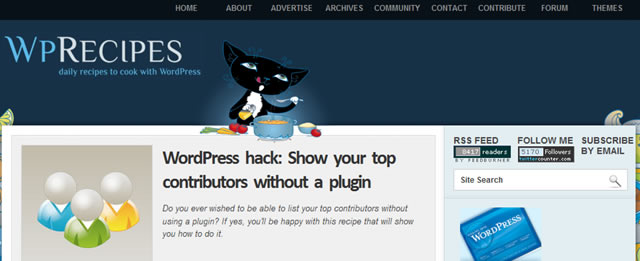 Show Your Top Contributors Without a Plugin