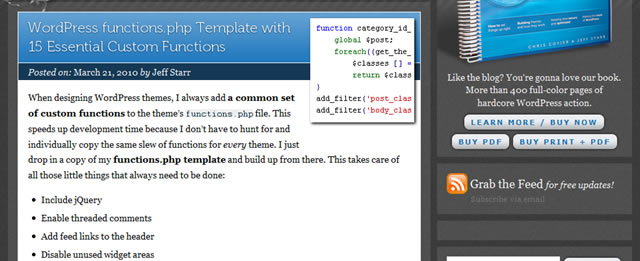 WordPress functions.php Template with 15 Essential Custom Functions