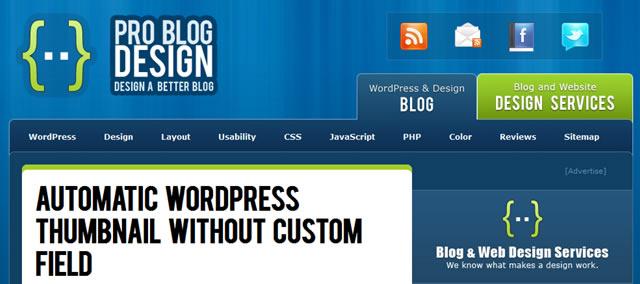 Automatic WordPress Thumbnail Without Custom Field