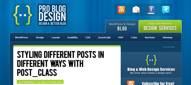 Styling Different Posts in Different Ways With Post_Class