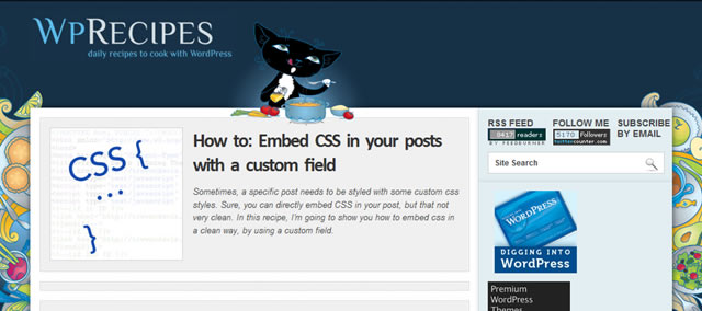 How to: Embed CSS in your posts with a custom field