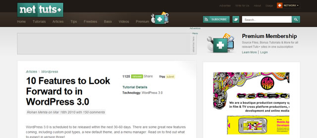 10 Features to Look Forward to in WordPress 3.0
