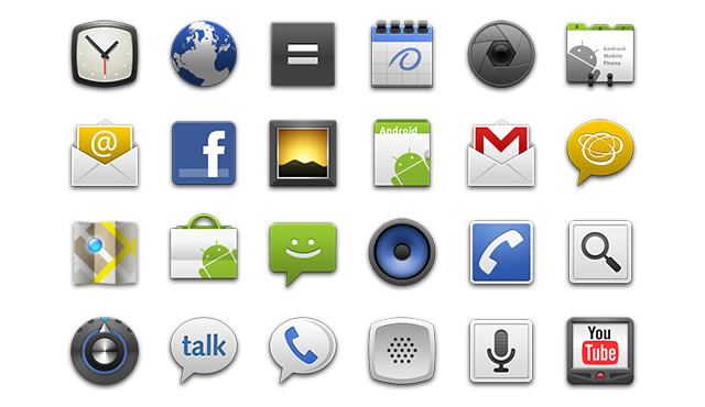 Android app developers gui kits icons fonts and tools standard launcher icons standard launcher icons android developers icon template pronofoot35fo Image collections