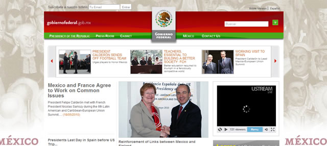 Gobierno Federal Mexico