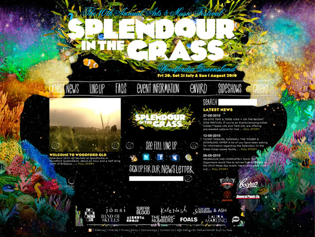 Splendour in the Grass 2010