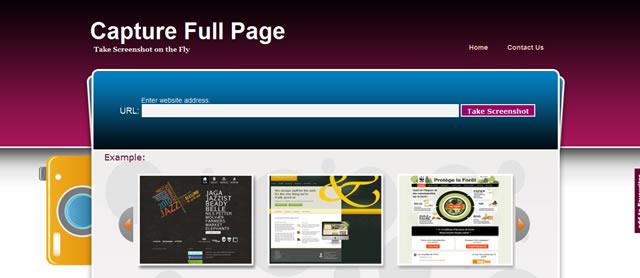 截图全部网页 - 捕获完整的网页