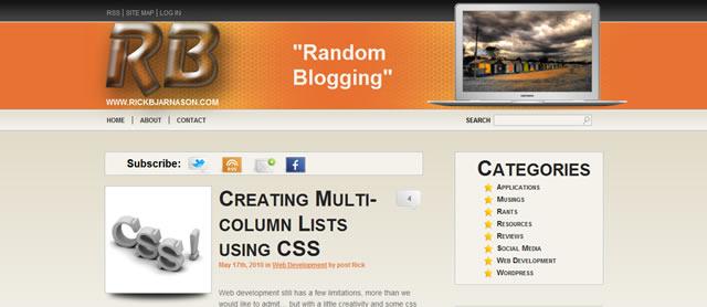 创建多列列表使用CSS