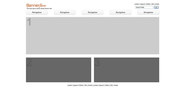 Fireworks Template for Wireframing