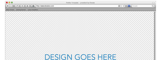 Firefox Browser Template (Mac) for Fireworks
