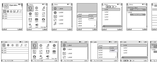 Nokia S60 Wireframing Stencils for Fireworks
