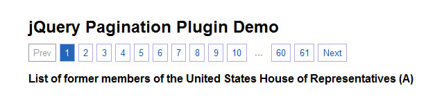 Paginated Pages - Pagination Plugin
