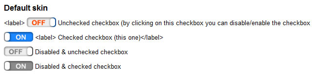 Check Boxes - jQuery Checkbox