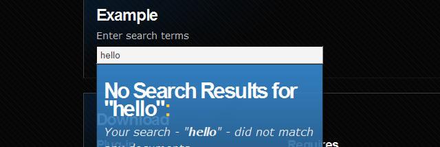 Search - jQuery Live Search