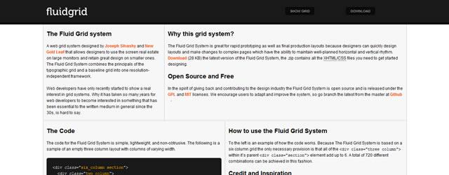 Fluid Grid System