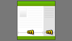 2 Column Elastic, Right Sidebar, Header, and Footer