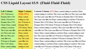 CSS Layout (Fluid-Fluid-Fluid)