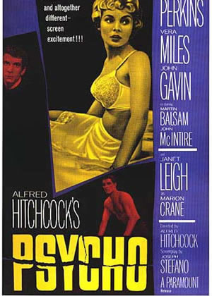 Psycho - Movie Posters from the 1960s