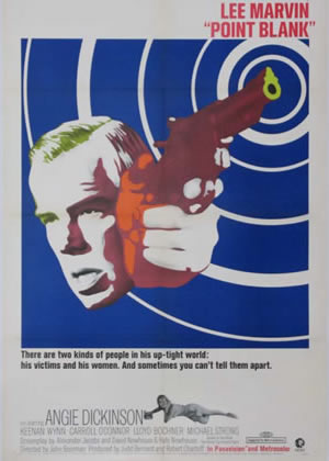 POINT BLANK - Movie Posters from the 1960s