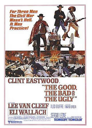 Good The Bad And The Ugly - Movie Posters from the 1960s