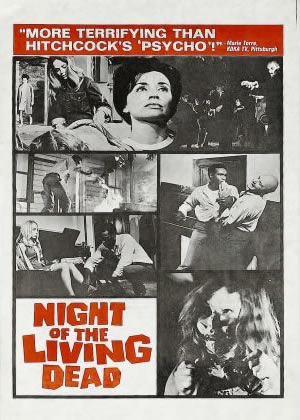 PNight of the Living Dead - Movie Posters from the 1960s